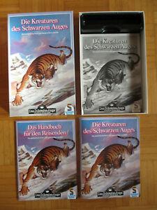 DIE KREATUREN DES SCHWARZEN AUGES 1989 Kompl DSA Abenteuer Box Schwarze Auge Fan
