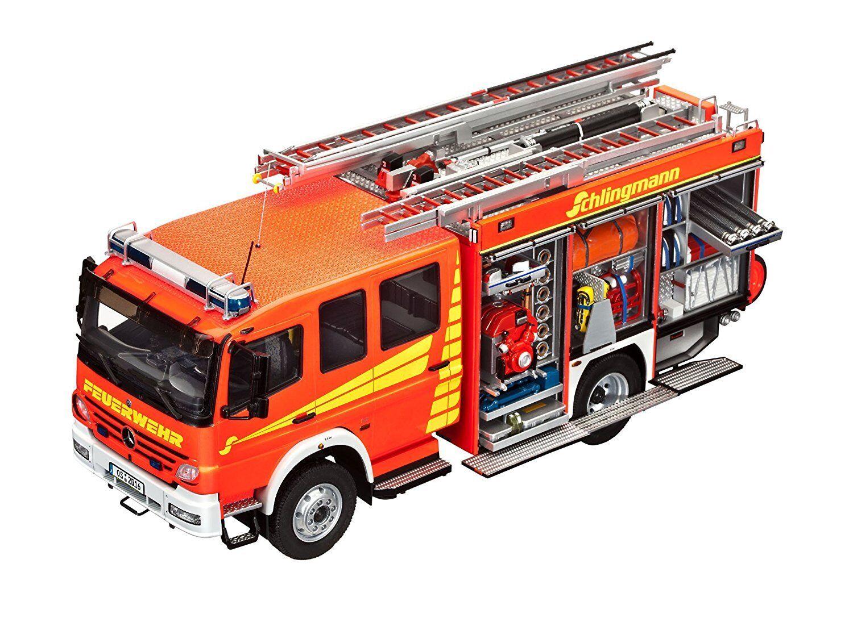 REVELL KIT MODELLO 07404 – del camion dei vigili del fuoco Mercedes Benz Atego 1529 AF NUOVO