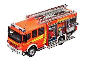 Revell-Modellbausatz-07404-Feuerwehrfahrzeug-Mercedes-Benz-Atego-1529-AF-NEU