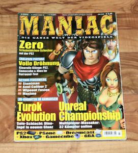 2002 Maniac Magazine Shadow Hearts Resident Evil Survivor 2 Code Veronica Maximo-afficher Le Titre D'origine