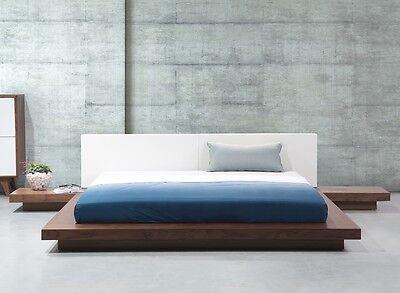 Dise ador cama jap n con somier japon s macizo flaches - Somier japones ...