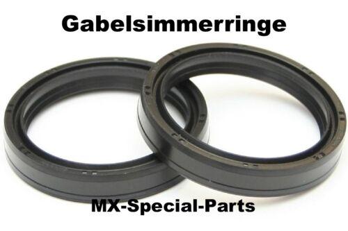 GABEL DICHTRINGE GABELSIMMERRINGE fork oil seals KTM SX 85  SX85   WP 43