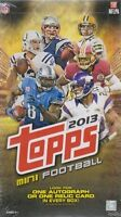 2013 Topps Football Mini Hobby Box on sale