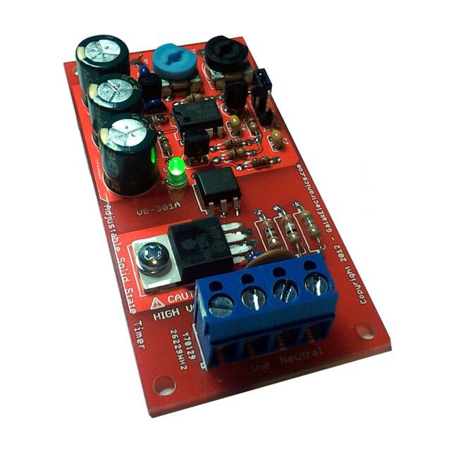 Adjustable Solid State AC Timer Kit