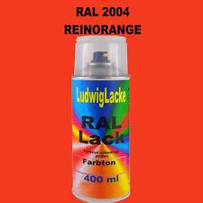 Ral Spraydose 2004 Reinorange 400ml glänzend auch in kg Dosen lieferbar