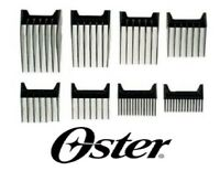 Oster Lucky Dog Adjusta Groom Clipper Blade Attachment Guide Guard Comb 8 Pc Set
