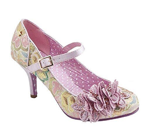 Joe marrons couture Ginnie Violet Cour Chaussures   Taille 5