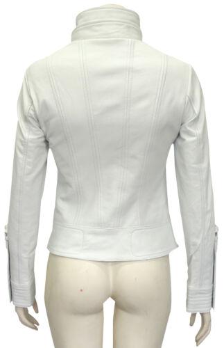 mode pour femme à Veste en d'agneau cuir courte designer en Lowa la White cuir XxqznTUwzf