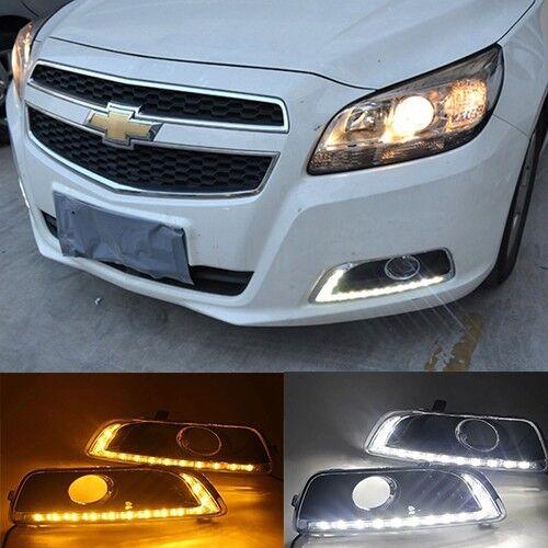 For 2012-14 Chevy Malibu High Power 2x LED Daytime Running Lights DRL Lamps Kit