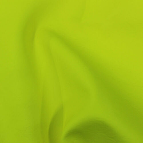 140cm wide! Fluorescent Vinyl Leatherette Fabric Leather Look Sold by the metre