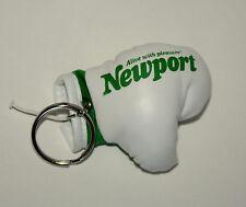 Vtg 1980s Newport Cigarettes Boxing Glove Tobacco Advertising Key Chain New NOS