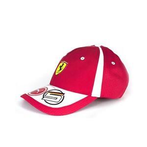 0f2ea5e6765 Image is loading Ferrari-2018-Sebastian-Vettel-Team-Cap