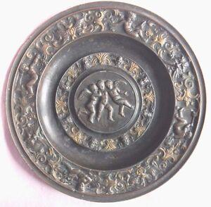 Straightforward Wunderschöner Bronze ? Wandteller Engel Putten Puttis Ansehen Alter ?