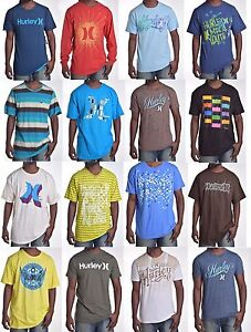 Hurley-Men-039-s-Classic-Graphic-Tee-Shirt-Choose-Size-amp-Color