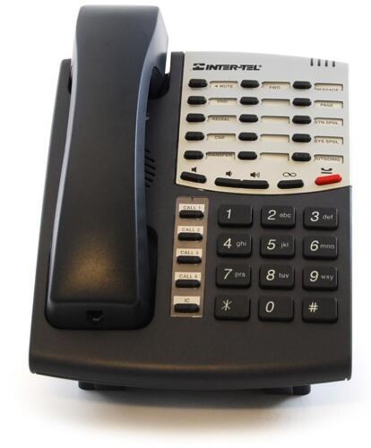10 Lot of Refurbished Intertel Axxess 550.8500 Basic Digital Phone Charcoal