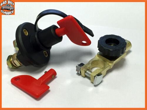 Battery Master Isolator Cut Off Kill Switch Pack of Two 12v 24v