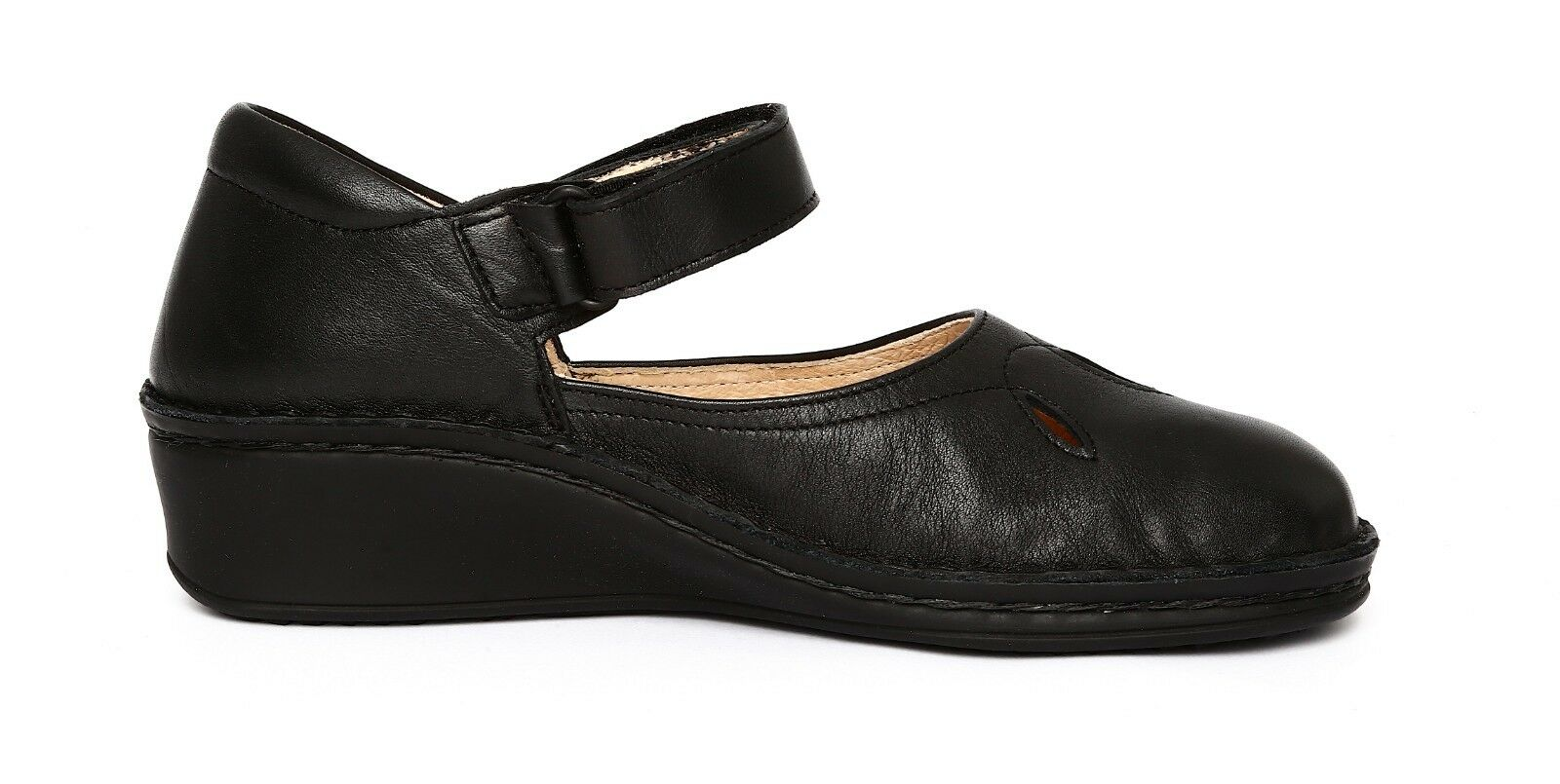 Finn Comfort Canberra City Women's Black shoes Sz 4UK 4UK 4UK 3132 43cb0d