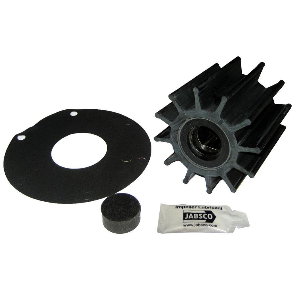 Jabsco impulsor Kit - 12 Hoja-Neopreno - 3-3 4   Diámetro-inserto de plástico