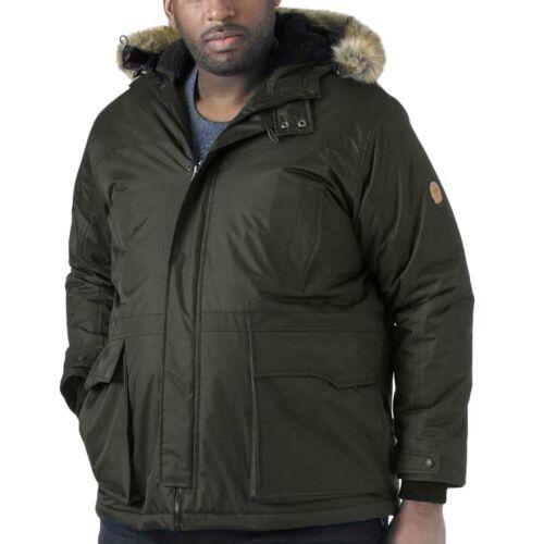 Duke D555 Mens Lovett Big Tall King Size Long Sleeve Hooded Parka Jacket Coat