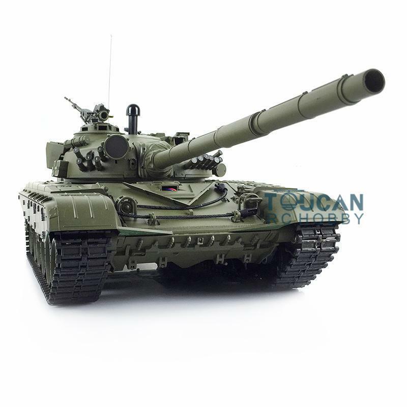 Henglungo 1 16 6.0 Plastic Russia  T72 RTR RC Tank 3939 W  360° Turret rosso Eyes  la vostra soddisfazione è il nostro obiettivo
