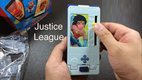 The Justice League Contact Cards Case McDonald/'s Action Figure