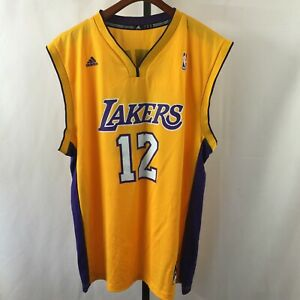 NWOT Adidas Men's L Home game jersey NBA Basketball L.A Lakers ...