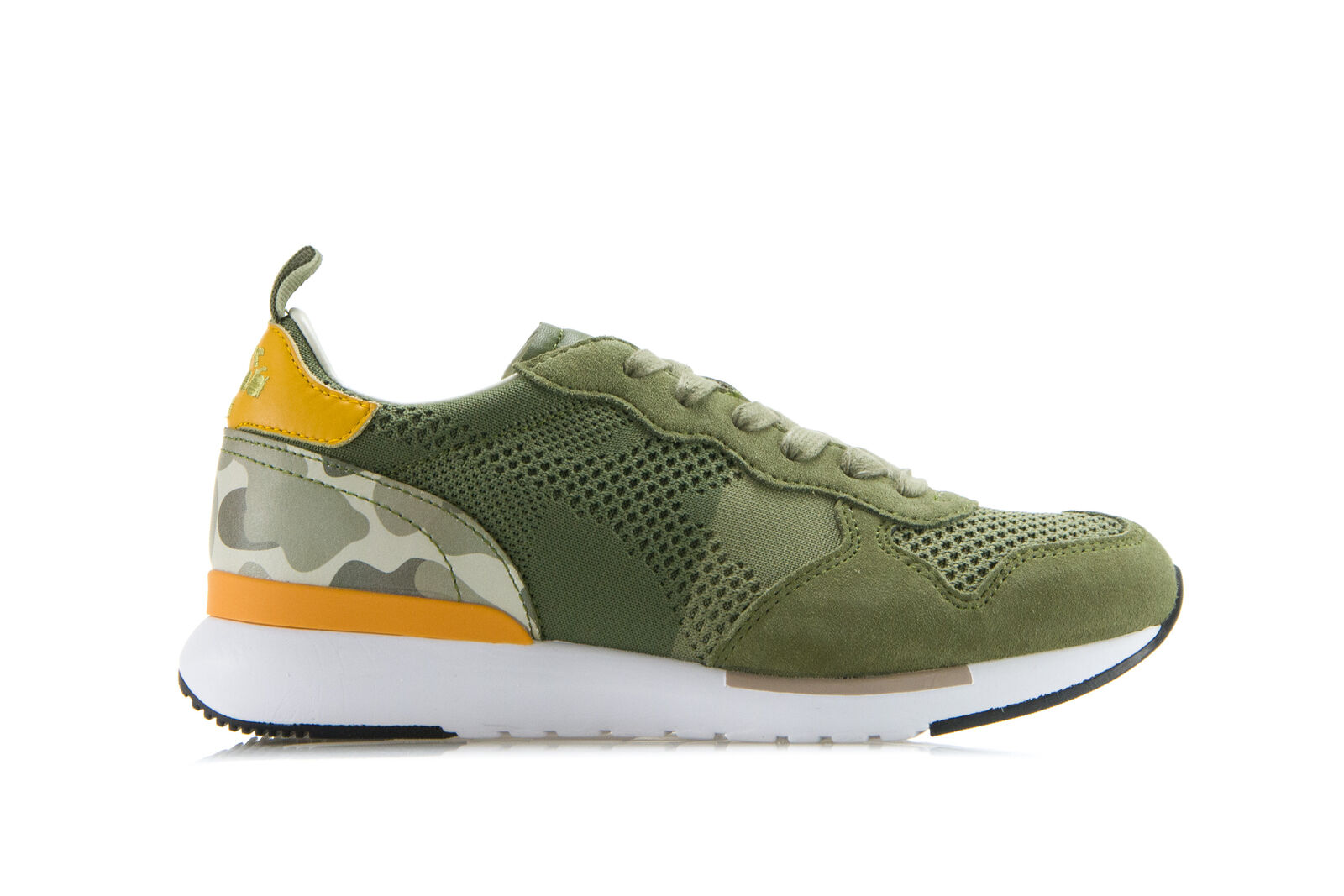 DIADORA HERITAGE Mens Womens Sneakers shoes TRIDENT EVO LIGHT Green Trainers