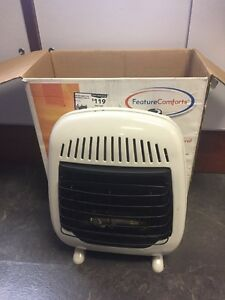 Feature Comforts 239877 Vent Free Gas Wall Heater 10k Btu