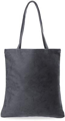 große Damentasche Shopperbag Handtasche mit Schlüsseletui grau