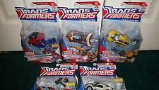 Optimus Prime Rodimus Bumblebee Ratchet Jazz Deluxe Animated Transformers Hasbro