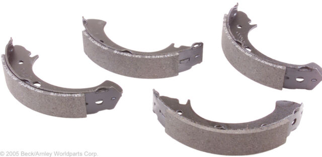 Beck Arnley 081-0804 Relined Rear Drum Brake Shoes