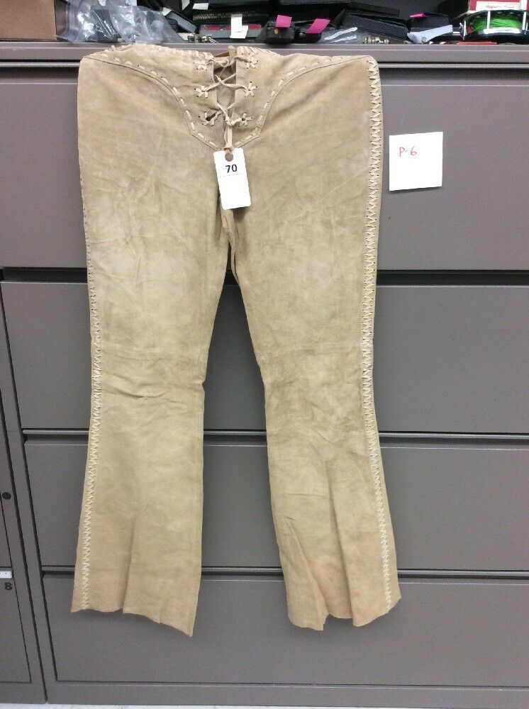 ARDEN B 100% LEATHER PANTS SIZE 4 NEW CONDITION P-6