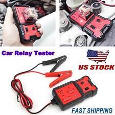 12v Electronic Automotive Relay Tester Universal Car Auto Battery Checker Tool