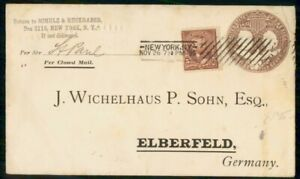 Mayfairstamps-US-1895-New-York-To-Germany-columbian-Uprated-Stationery-Cover-wwf