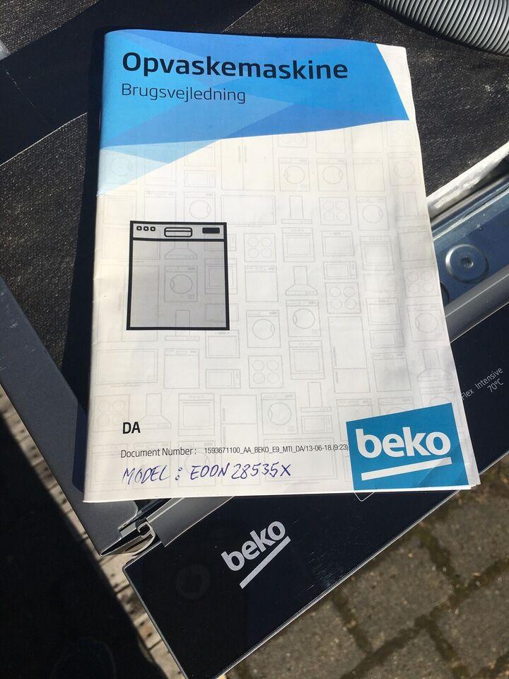 Beko Beko (Blomberg) 28535X, indbygning, energiklasse