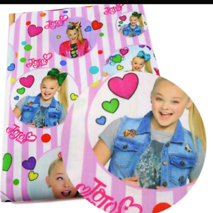 Jojo Fabric 1m x 1.4m Poly Cotton