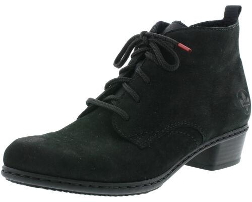 Rieker Y0743-00 Damen Stiefel Stiefeletten Ankle Boots Leder