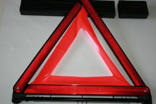 PORSCHE sicherheitsausrüstungs KIT TRIANGOLO DI SEGNALAZIONE Associazione Cuscino 2 warnwesten
