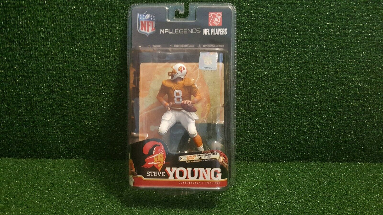 McFarlane NFL Legends 6 Steve Young Collectors Level Chase Variant