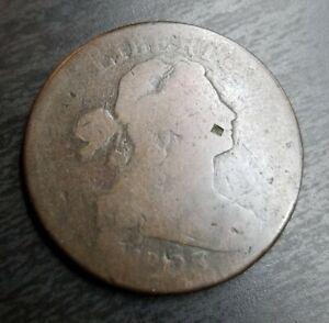 1803-Draped-Bust-Large-Cent-Good-G-Details-1C-Env-dmg-reverse