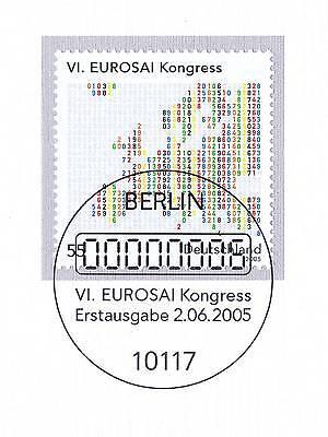Herzhaft Brd 2005: Eurosai-kongreß In Bonn Nr. 2470 Mit Berliner Ersttagsstempel 1a! 1905