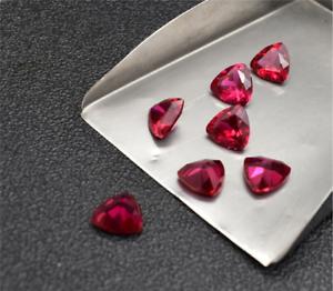 Sin calefacción AAAAA Calidad Superior Paloma Roja Sangre Ruby billones Cut Loose Piedras Preciosas