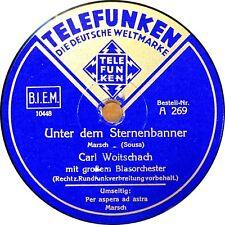 Blasorchester Carl Woitschach - Unter dem Sternenbanner - 1939