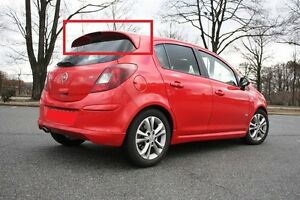 Opel Vauxhall Corsa D 5d 5 Doors Rear Roof Spoiler Opc Line Look New Ebay
