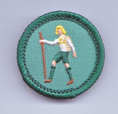 Vintage Junior Girl Scouts Badge//Patch ~1963-1980 ~ Needlecraft
