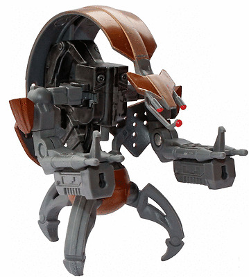 Star Wars Destroyer Droid The Clone Wars CW04 Action Figure