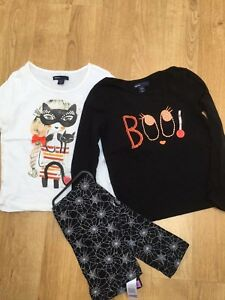 9764f845a5d0bc Halloween  Autumn Bundle of Girls Long Sleeve T Shirts Tops Leggings ...