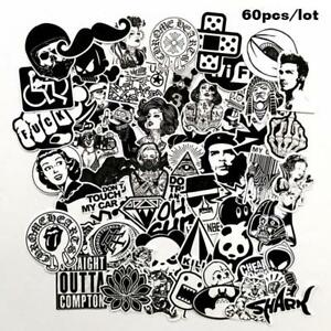 60x-Mixed-Graffiti-motorcycle-stickers-Car-bike-Laptop-luggage-Stickers-Decal-US