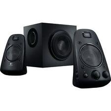 New Logitech Z623 200 Watt Home Speaker System, 2.1 Speaker System Black