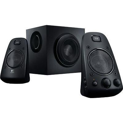 Logitech 2.1 Speaker System Z623, THX-Certified Audio, 200 Watts, New